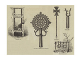 Church Furniture of Abyssinia Giclee Print