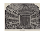 Interior View of Opera-House Giclee Print
