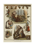 A Child's Christmas Memories Giclee Print