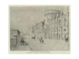 Dublin Castle Illustrated, I Giclee Print