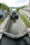 Rideau Canal Locks - Ottawa Photographic Print by  adwo