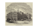 St Mary's Hospital, Paddington Giclee Print