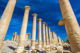 Great Colonnade at Palmyra Was the Main Colonnaded Avenue in the Ancient City of Palmyra in the Syr Photographic Print by  siempreverde22