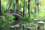 Classic Chinese Garden, South China Fotografie-Druck von  konstantant