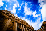 Exterior of St Peter's Basilica Photographic Print by  natsora