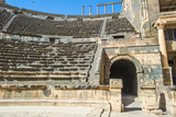 Roman Theatre at Bosra , an Ancient Roman Theatre in Bosra, Syria. Photographic Print by  siempreverde22