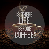 Quote on Coffee Photo Background Photographic Print by Ivan Kruk