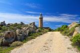 Road to Lighthouse - San Pietro Isle, Sardinia, Italy Photographic Print by Antonio Scarpi