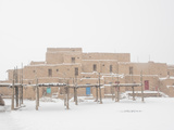 Taos Pueblo Photographic Print by  Melastmohican