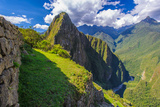 Mountains of Machu Picchu Area, Peru Photographic Print by  siempreverde22