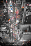 New York Times Square Lights Posters