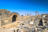 Roman Ruins North of the Citadel. City of Bosra, Syria. UNESCO World Heritage Photographic Print by  siempreverde22