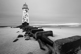 Talacre Lighthouse Point of Ayr Photographic Print by  cieniu1