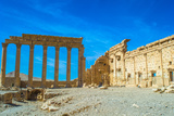 UNESCO World Heritage Site. Palmyra, Syria. Photographic Print by  siempreverde22