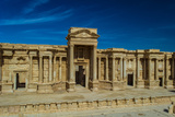 Roman Theater Ruins in Palmyra, Syria Photographic Print by  siempreverde22