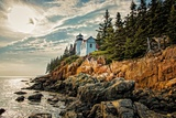 Bass Harbor Headlight Photographic Print by Benjamin Sullivan