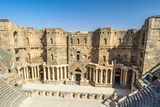 The 2Nd Century Roman Theater, Constructed Probably under Trajan. Ancient City of Bosra, UNESCO Wor Photographic Print by  siempreverde22