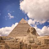 Sfinks Fotografisk tryk af  feferoni