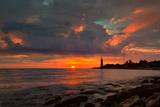 Beacon on a Sunset, Sevastopol, the Crimea Photographic Print by Shchipkova Elena