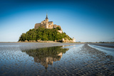 Abbey Mont Saint Michel, Normandy, France Photographic Print by  ivoha13