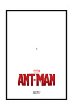 MARVEL: ANT-MAN Plastic Sign