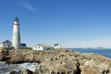 Boston Lighthouse Panorama Photographic Print by  beyond_a_snapshot