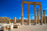Columns of the Ruins of Syrian Town Palmyra, UNESCO World Heritage Site Photographic Print by  siempreverde22