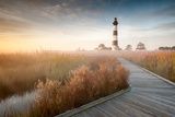 Bodie Island Lighthouse North Carolina Outer Banks Lámina fotográfica por  markvandyke