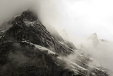 The Wetterhorn (3692M) over Grindelwald Village, Switzerland Photographic Print by  claffra