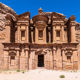 Ad Dayr Monastery, Petra, One of the New Sewen Wonders of the World, Jordan Photographic Print by  siempreverde22