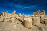 Great Colonnade at Palmyra, Syrian Desert. UNESCO World Heritage Site Photographic Print by  siempreverde22