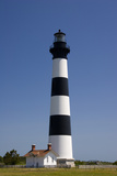 Bodie Island Lighthouse in the Outer Banks of North Carolina Photographic Print by Jill Lang