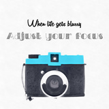 Quote Vintage Camera Photographic Print by  feferoni