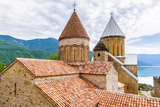Ananuri Castle, a Castle Complex on the Aragvi River in Georgia. UNESCO World Heritage Photographic Print by  siempreverde22