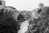 The Old Bridge over the Neretva River Fotodruck von paul prescott
