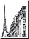 Paris Impressão em tela esticada por Claudia Libenberg