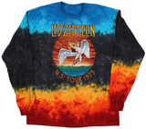 Long Sleeve: Led Zepplin - Icarus 1975 長袖Tシャツ