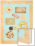 Biscuits Wood Print by Alexandra Rolfe