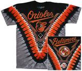 MLB - Orioles  Tie Dye Logo Skjorter