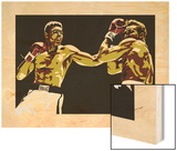 Muhammad Ali - Sting Like a Bee Wood Print by Emily Gray