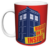Doctor Who - Bigger On The Inside Mug Taza