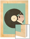 Vinyl Wood Print by Dale Edwin Murray