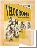 Velodrome Wood Print by Unknown Rocket 68