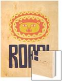 Roar Wood Print by Chris Wharton