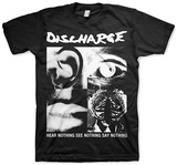 Discharge - Hear Nothing Shirts