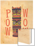 Pow Wow Wood Print by Chris Wharton