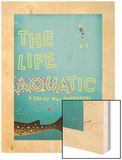 The Life Aquatic Wood Print by Chris Wharton