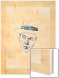 Sinatra Wood Print by Jason Ratliff