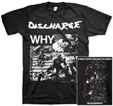 Discharge - Why T-shirts