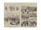 The Carlist War in Spain Giclee Print